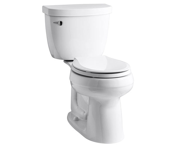 KOHLER K-3851-0 Cimarron Comfort Height with 10-Inch Rough-In - Best 2 Piece Toilet 2021