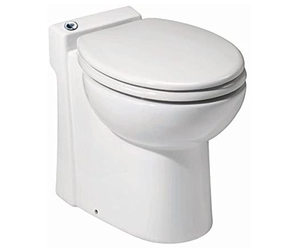Saniflo 023 Sanicompact Self-Contained Toilet – Best Toilet for a Small Bathroom 2020 – Amazon's Choice