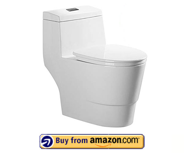 WOODBRIDGE T-0019 – Best Dual Flush Toilet 2021 – Amazon's Choice