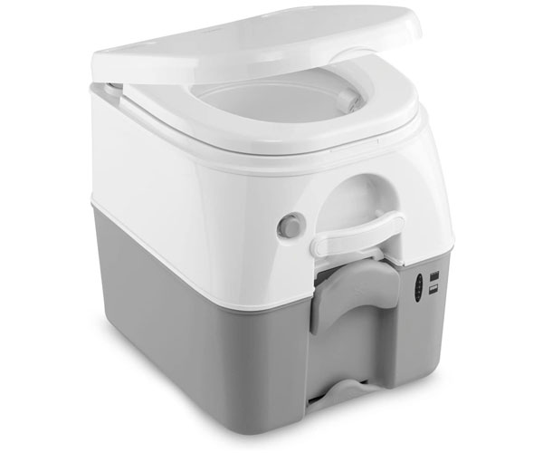 Gray Dometic 301097606 Portable Toilet – Best Dometic Portable Toilet 2021