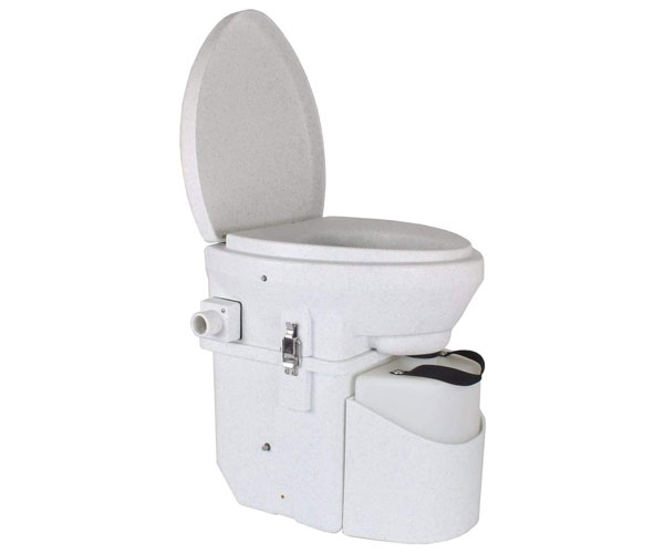 Nature's Head Self Contained Composting Toilet – Best Portable Toilet for Truckers 2021