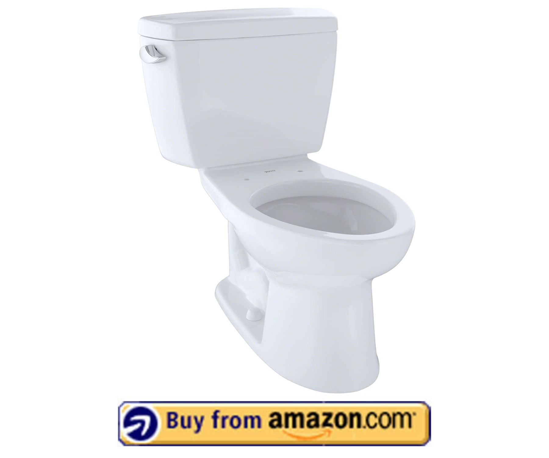 TOTO CST744SL#01 Drake 2-Piece Ada Toilet - Best Quiet Toilet 2021