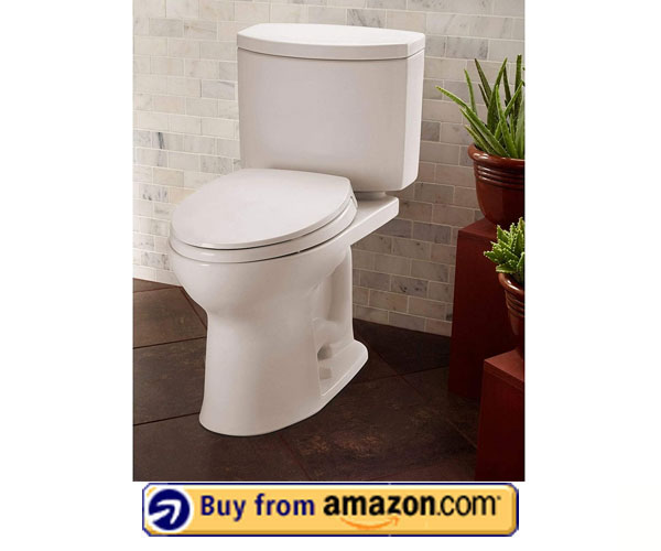 TOTO CST454CEFG#01 Drake – Best Watersense Toilets in the Market in 2021