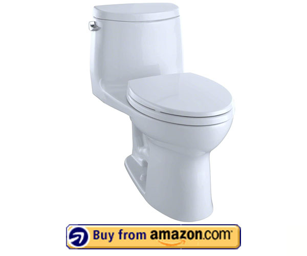 TOTO MS604114CEFG#01 UltraMax II One-Piece Elongated Toilet - Noiseless Toilet 2021